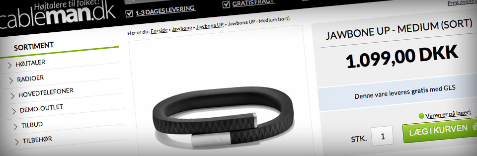 Køb Jawbone UP